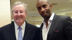 Shawn Baldwin with Steve Forbes at the Forbes Conference in Kuala Lumpur