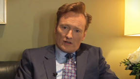 Conan O'Brien: Are leaders born or made?