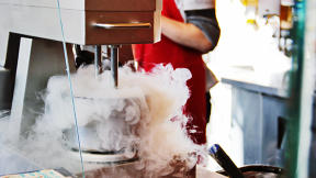 Cold Fusion: Welcome To The Liquid Nitrogen-Blasting Old-Timey Ice Cream Shop Of The Future
