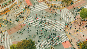 See The Massive Metropolis Of Tokyo In A New Way--Really Tiny