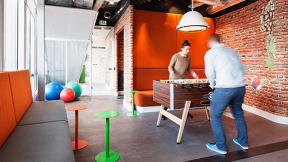 Why Offices Full Of Ping-Pong Tables And Video Games Might Be Onto Something