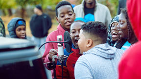 Can This Mobile Recording Studio Ease Police-Community Tensions With Music?