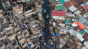 Look Down On One Of The World's Most Densely Populated Slums In These Aerial Shots