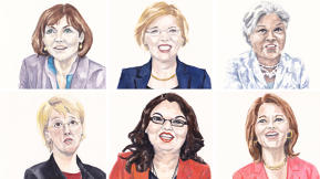 The Women Of Congress, In Fabulous Watercolor Infographics