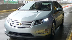 Test Driving the Chevy Volt [Video]