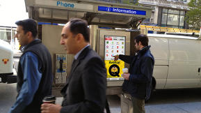 NYC Pay Phones Pivot To Become Information Hubs