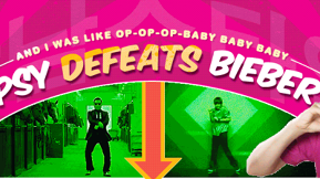 Oppa! South Korean Rapper Psy's Gangnam Style Ousts Justin Bieber's Baby As Most Watched YouTube Video