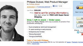 Shipping From Paris: Web Product Manager Creates Amazon Product Page Resume