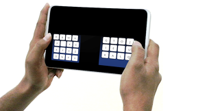 Thumbs Up As Researchers Develop New Tablet-Friendly Keyboard, The KALQ