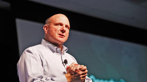 Reaction As Steve Ballmer Heads Into The Big Blue Yonder