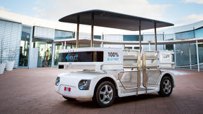 This Fugly Golf Cart Is Officially The First Autonomous Vehicle To Market