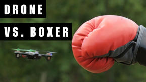 Drone Vs. Boxer: Let's Get Ready To Tumble!