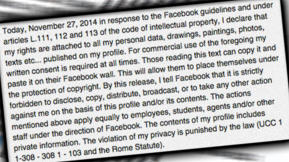 The Only Response You Need To Facebook's Terms Of Service