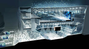 The Building Of The Future Can Transform From An Intimate Theater Into An Arena
