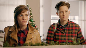 "The ""Take My Wife"" Holiday Special Is Tired Of Lesbians Being Mistaken For Sisters"