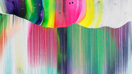 Yago Hortal Creates Paintings With Breathtaking Color Smears [Slideshow]