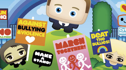 Beatbully's Modern Anti-Cyberbullying Campaign Uses Avatars As Demonstrators