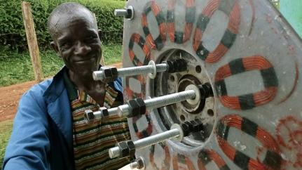 Truly Local Power: African Wind Turbines Built From Scrap
