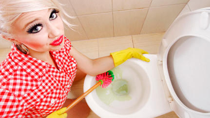 Clean Toilet-Bowl Obsession, And Other Ways Mom Marketing Fails