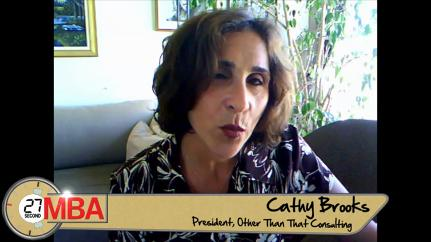 Cathy Brooks: Judgment Versus Experience, What Matters More?