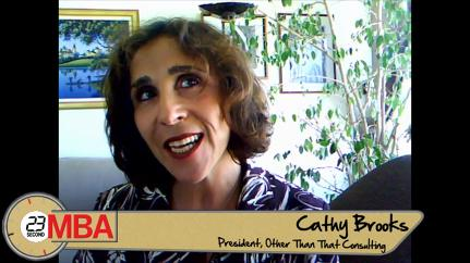 Cathy Brooks: What's the worst advice you've ever received?