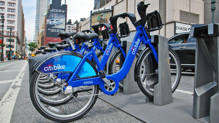 New York City's Bike-Share Hits 100,000 Rides