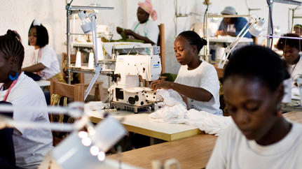 Africa's First Fair-Trade Garment Manufacturer Is A Model For Women's Empowerment