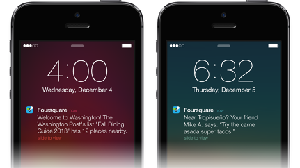 "Foursquare's ""Smart"" Push Notifications Roll Out On IOS"