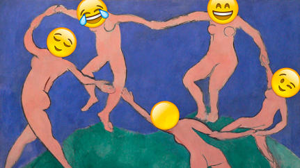 The Best Emoji Art From The Art And Design Show