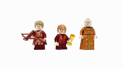 "These Legos Are A ""Game Of Thrones"" You Can Share With Your Kids"