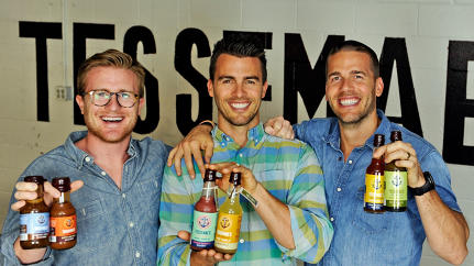 """We're Crushing It!"" How Three Total Bros And Their Mom Created Costco's New Favorite Salad Dressing"