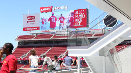 5 Ways The 49ers' Teched-Out Levi's Stadium Is Changing The Game For Fans