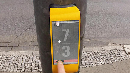 "This German Traffic Light Lets You Play ""Pong"" While You Wait To Cross The Street"