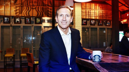 Howard Schultz For President? Starbucks CEO Says No