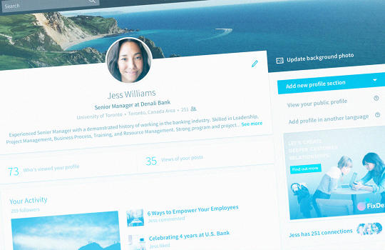 LinkedIn's Major Makeover Is Designed To Make You Want To Actually Use LinkedIn