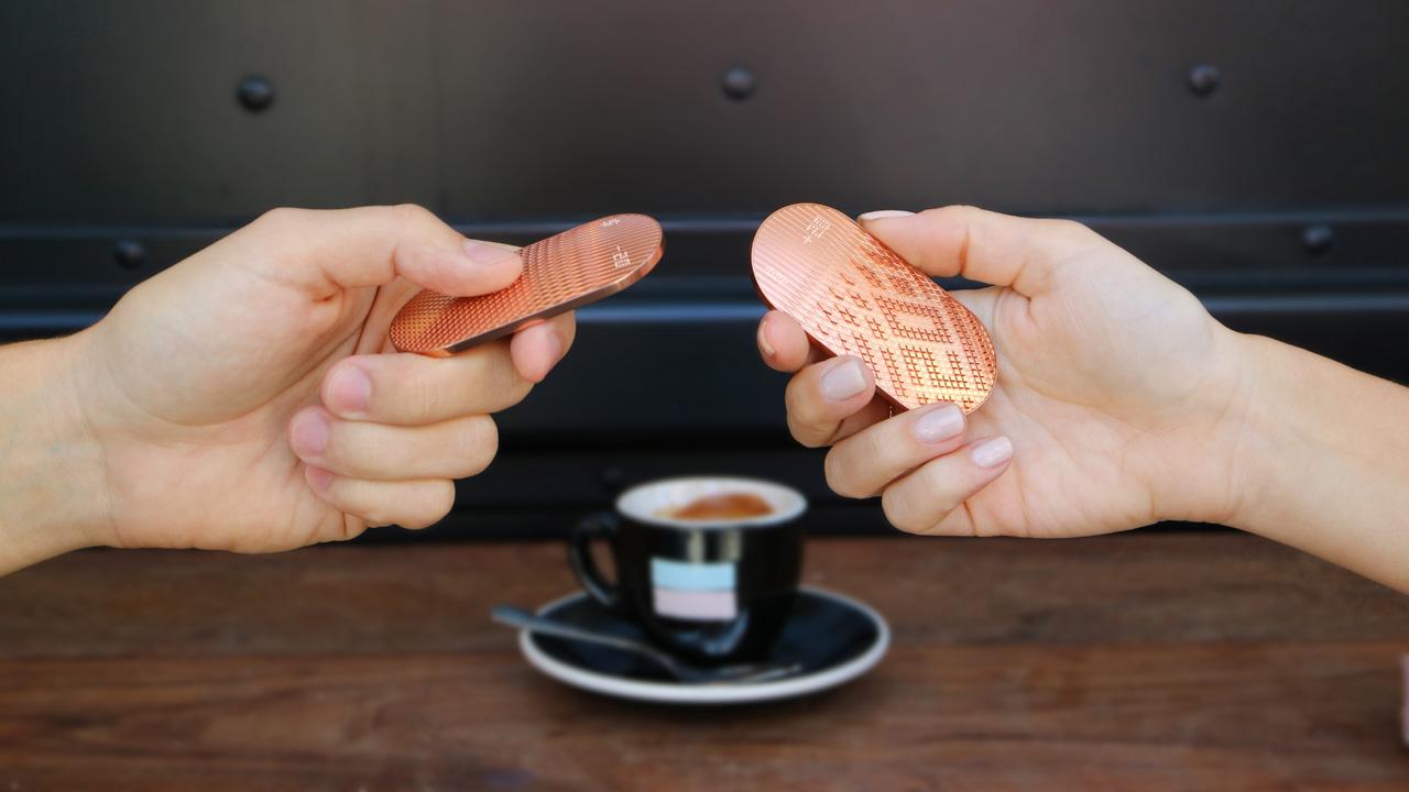 تکنامه - پرداخت پول با سکه مسی دیجیتال