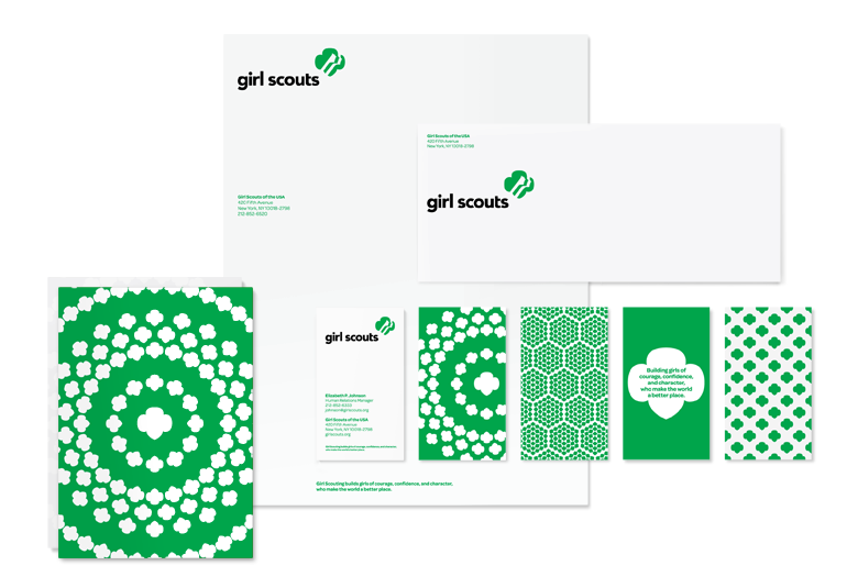 A Fresh Identity For The Girl Scouts Of America