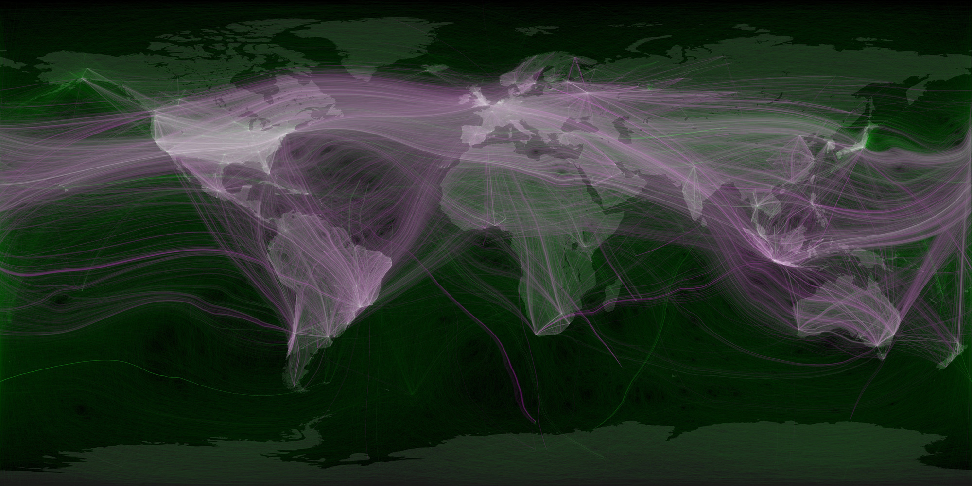 Infographic of the day mapping the worlds tweet networks gumiabroncs Gallery
