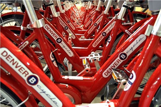 Denver B-cycle program