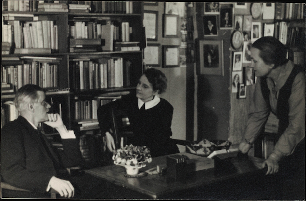 James Joyce with Sylvia Beach
