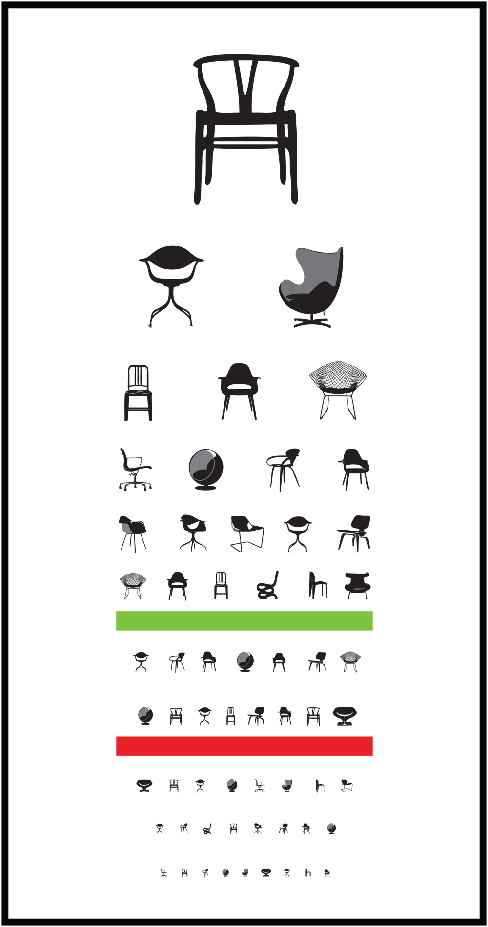Poster design for quiz - Chairs Small