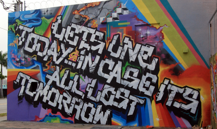 Creative Destinations: Miami\'s Wynwood Area Transforms Into Open-Air G