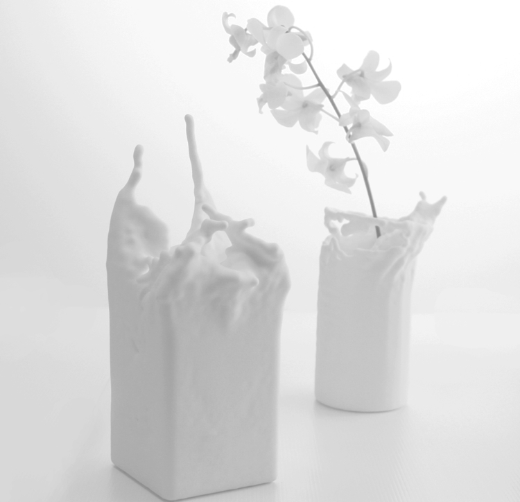 First Look Now You Can Design Your Own Vase Mimicking Splashing Wate