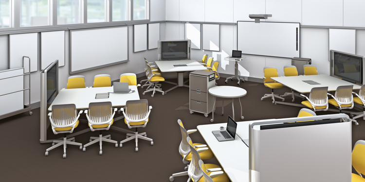 Classroom Design Companies : How steelcase redesigned the st century college classroom