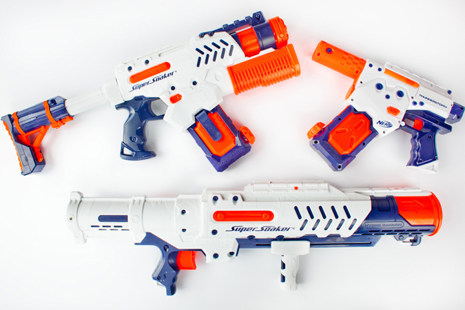 nerf squirt guns The Tidal Tube from Nerf does away with the  .