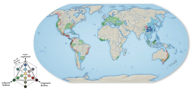 Infographic of the Day: An Atlas of the World\'s Ecosystems