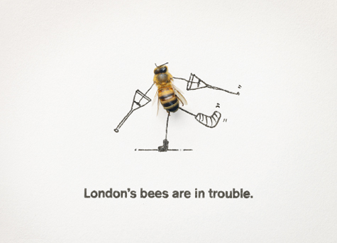 London bee ad