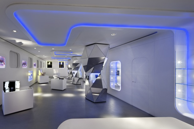 Milan gallery the closest thing on earth to outer space for Outer space home decor