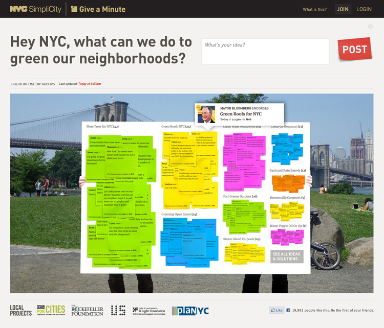 looking for bold ideas to fix the city new york turns to crowd sourci