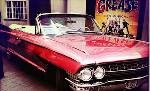 Grease the musical car